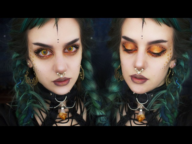 Morgoth inspired Goth Makeup | Manic Moth