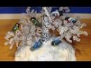 Снегири и синички из ПВА и крахмала Часть 1 3 Птички своими руками Modeling of birds
