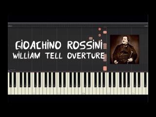 overture to william tell by gioachino rossini essay
