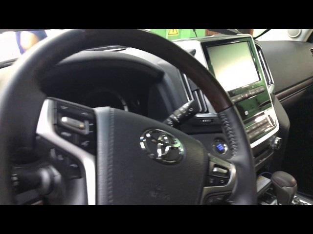 Призрак-840 сигнализация с GSM установка на автомобиль Тойота Ленд Крузер 200