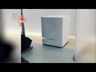 В Японии показали самоходный холодильник, приезжающий на зов хозяина