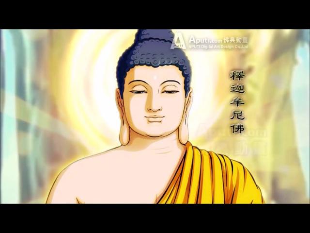 NHẸ NHÀNG Om Mani Padme Hum với Nụ Cười Từ Ái và Ánh Mắt Hiền Hòa của Đức Phật (HD 1080p)