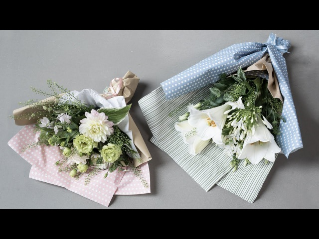DIY : How to arrange a bouquet of flowers by Søstrene Grene