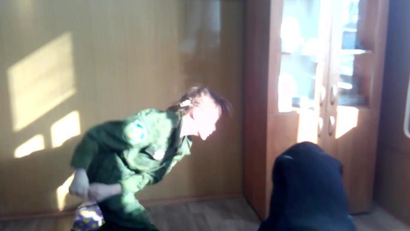Сычёва разбила Антонуву губу