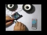 12V Bluetooth 4.0 APE FLAC WAV WMA MP3 audio decoder board
