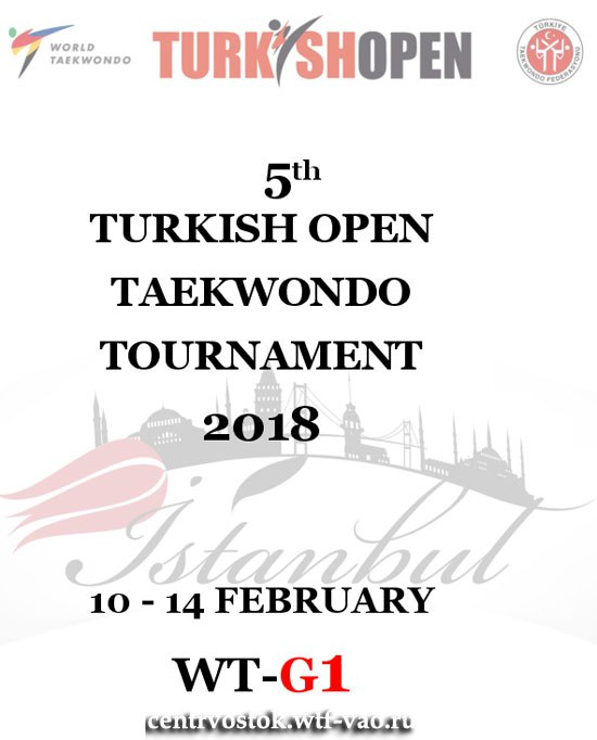 5th Turkish Open 2018