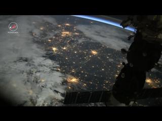 Таймлапс из космоса // Timelapse from space