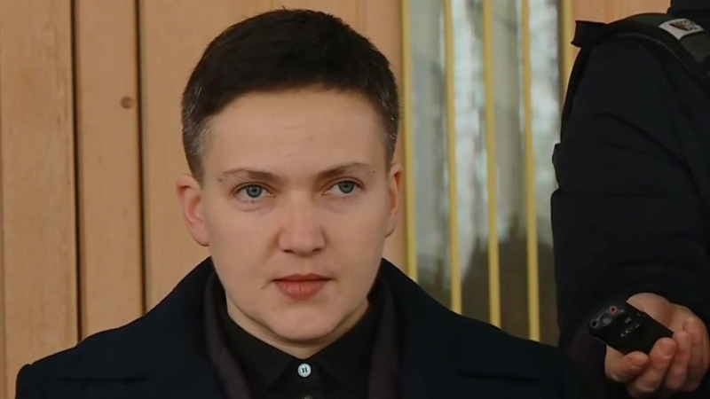 Савченко до и после допроса в СБУ - 15.03.2018 - HD 720p