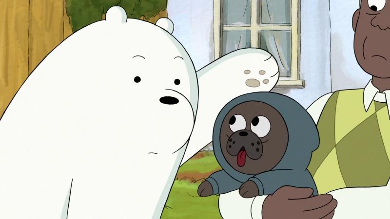 Чудо толстовка (We Bare Bears / Мы обычные медведи 3х09)