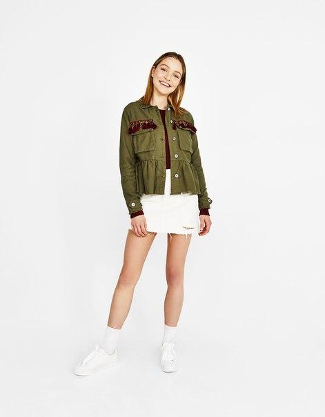 Куртка-рубашка в этническом стиле