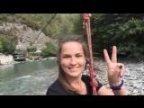 Абхазия. Полет над рекой Бзыбь.mp4