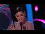Vanessa Hudgens Accepts The See Her Award - TEEN CHOICE