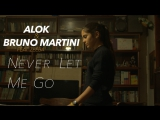 Alok &amp Bruno Martini (feat. Zeeba) - Never Let Me Go Music Video created by Denis Chernyy to BlackmagicK.