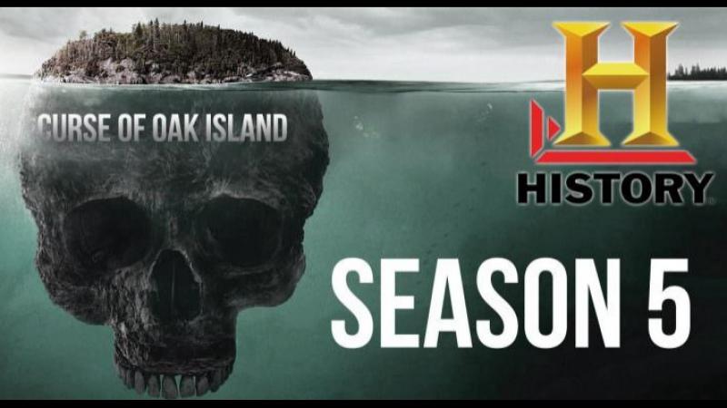 Проклятие острова Оук 5 сезон 4 серия. Сундук мертвеца / The Curse of Oak Island (2017)
