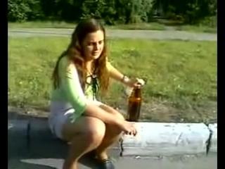пьяная шалава