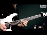 Andy James plays an amazing demo John Petrucci Cry Baby Wah