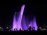 Олимпийский факел, поющие фонтаны. Сочи, Олимпийский парк.