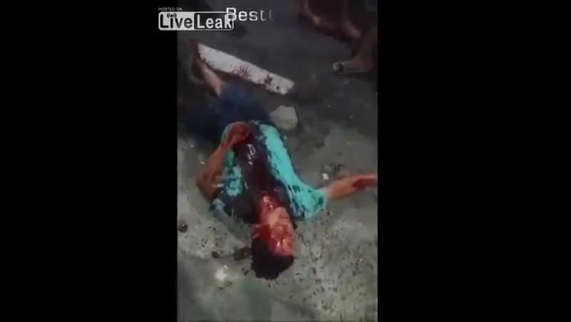 Assassino do motorista de onibus é lanhado pelo povo