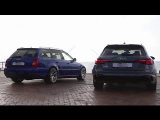 2018 AUDI RS4 vs its Godfather AUDI RS4 B5