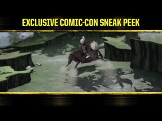 TMNT and Usagi comic-con sneak peek