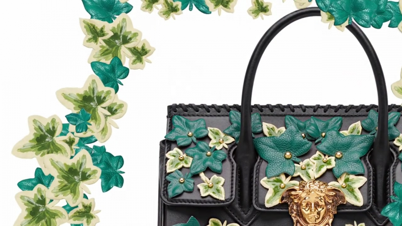 The Versace Edera Palazzo Empire Bag