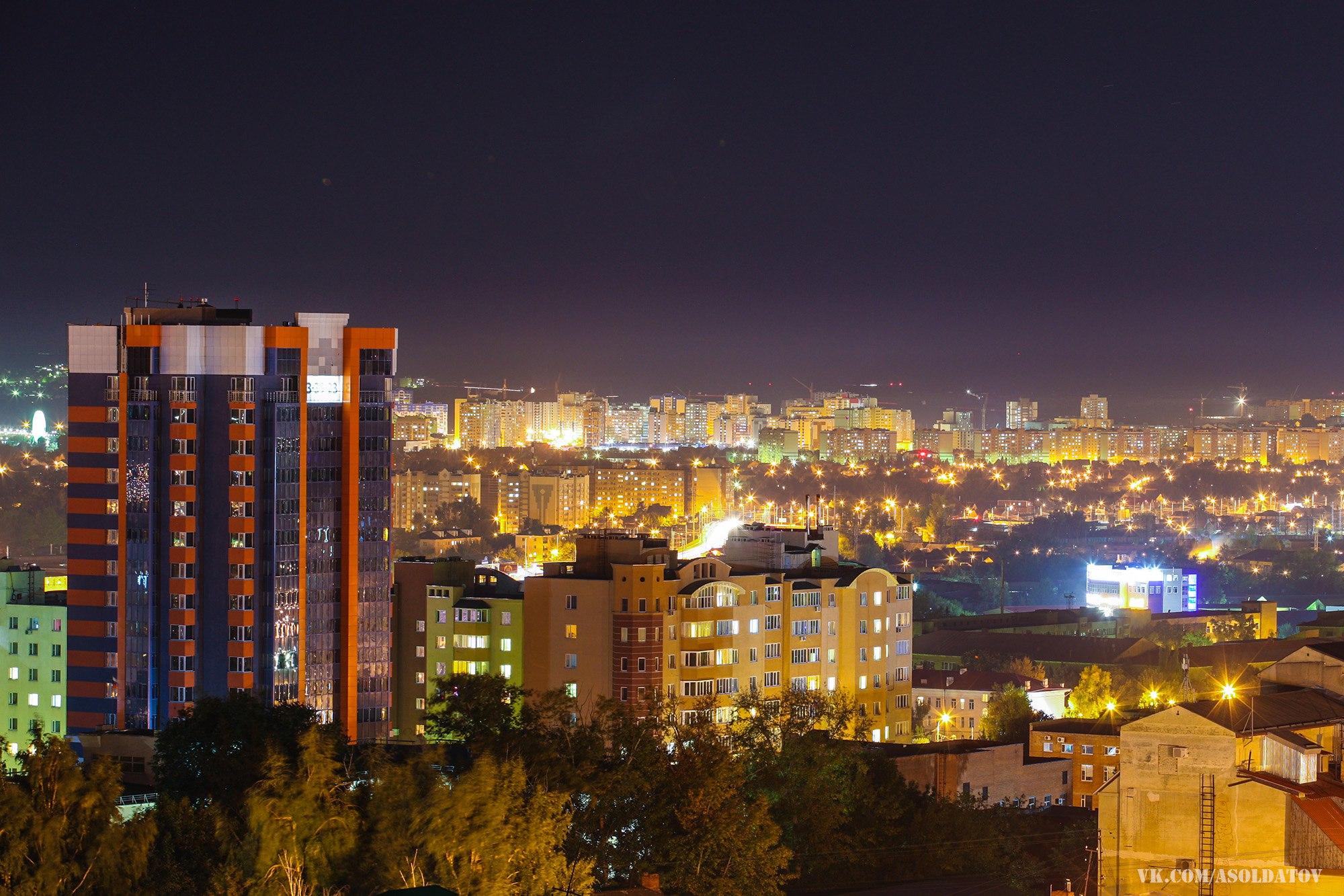 Ночная Пенза. Фото.