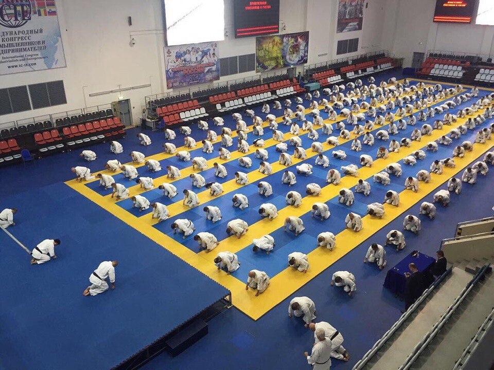 Тренировка с Канчо Шокей Мацуи