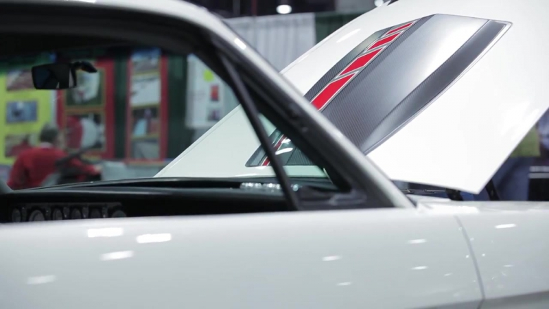 Ringbrothers Custom Refinishing On Carbon Fiber Mustang Fastback