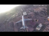 Reckless drone flies ABOVE passenger jet at McCarran Airport