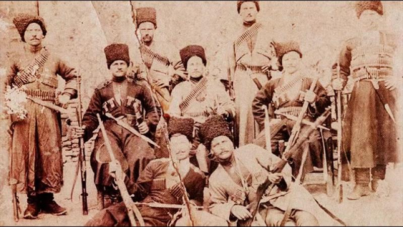 Казачья песня о подвиге Уральских казаков