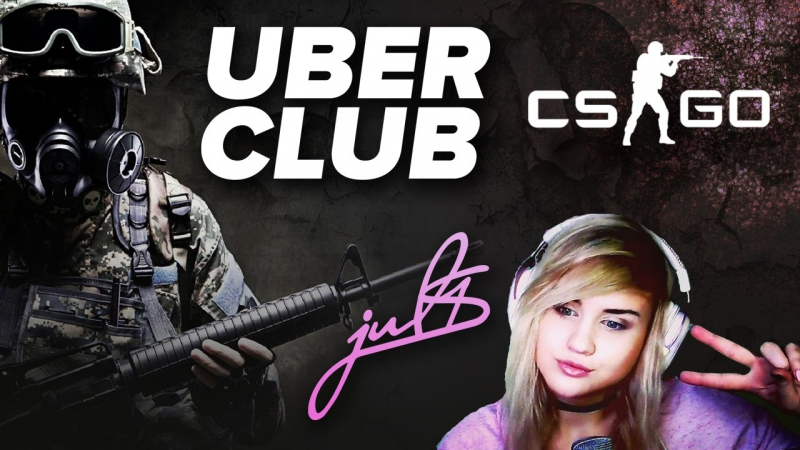 JUL1S ИГРАЕТ В CS GO GLOBAL ELITE FEMALE GAMING НАЧАЛО В 20 00 МСК