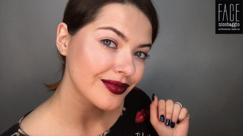 FACE nicobaggio professional make-up. Макияж губ с глиттером от Мельницкой Ксении » Freewka.com - Смотреть онлайн в хорощем качестве