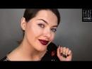 FACE nicobaggio professional make-up. Макияж губ с глиттером от Мельницкой Ксении