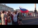 Смешная лошадь на фестивале: Хоровод России СПб.