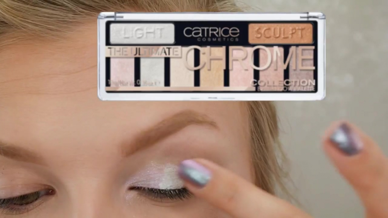 Dress Your Face- Mermaid Eyes All over Glow - CATRICE