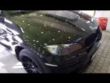 BMW X6 Hamann, оклейка+нанокерамика