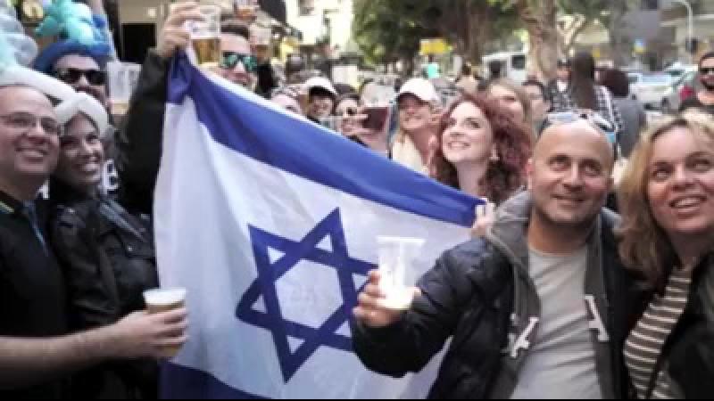 APARTHEID SUR ROUES - Giro dItalia ( tour dItalie cycliste ) démarre en Israël