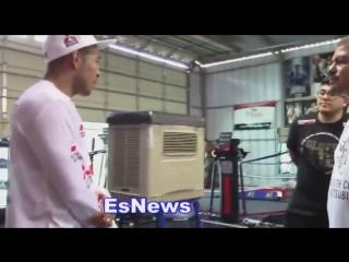 1 - Jose Aldo - Boxing Training Camp (русская озвучка)