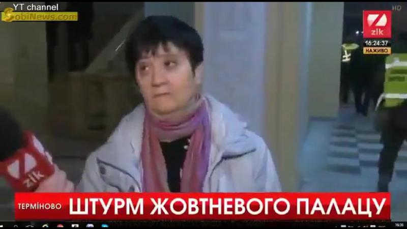 Работница Октябрьского о Порошенко
