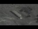 Пуск крылатых ракет Калибр по объектам террористов в Сирии с подводной лодки Великий Новгород