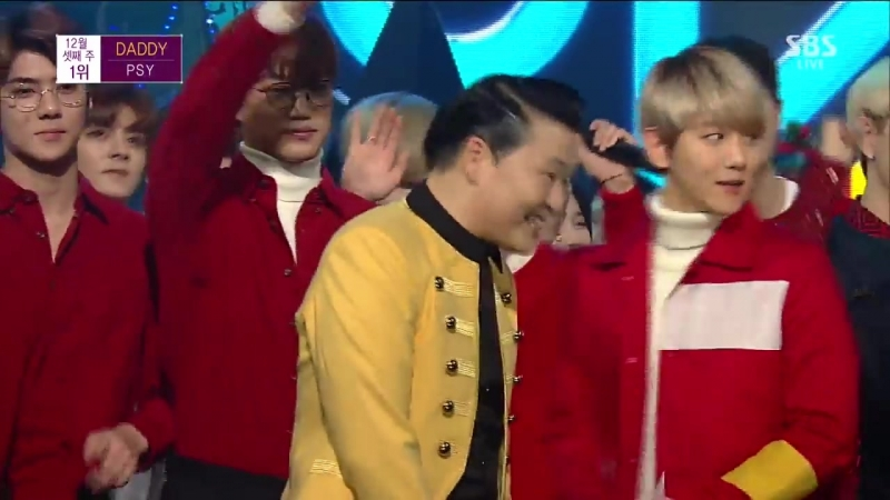 151220 PSY DADDY DANCING WITH EXO BTS GOT7 BEST ENCORE STAGE EVER Inkigay 1
