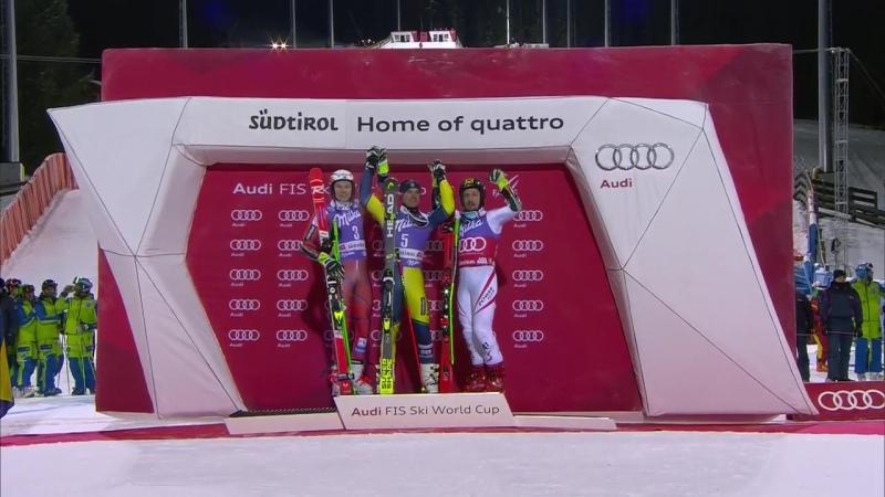 Маттс Олссон победитель Параллельного-гиганта PGS в Альта-Бадии 2)Х.Кристофферсон 3)М.Хиршер