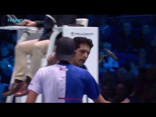 Теннис. ATP. Пары. Лондон Л.Кубот М.Мело 2–0 Б.Брайан М.Брайан .Обзор матча