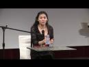 Kieu Trang singt im Asia Gourmet Abend. Lied 2