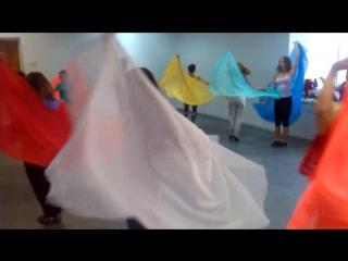танец айда 3 часть круг под счет