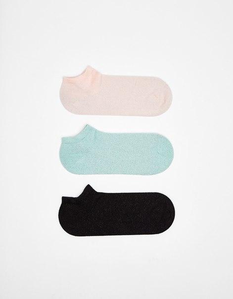 Набор из 3 пар коротких носков