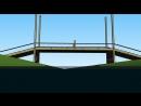 МоРст 1 я примитивная анимация проекта моста через реку Вексу