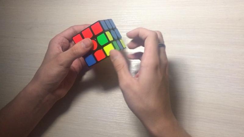Сборка кубика Рубика 3x3