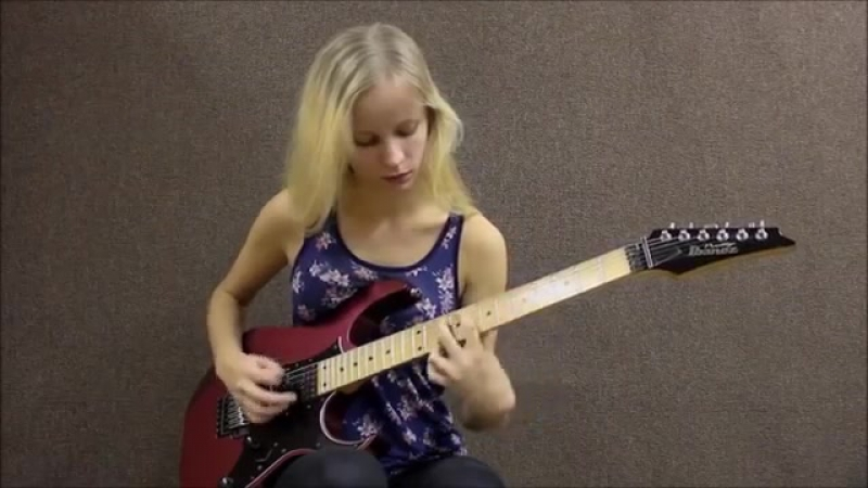 2 Female Guitarists Shred Off! Lauren Lace Vs Tina S