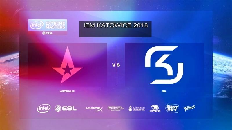 ASTRALIS VS SK GAMING IEM KATOWICE 2018